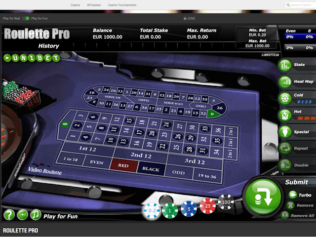 Unibet screenshot 3